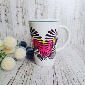 DAVIDS TEA | Tropical Plant W/ Lid Perfect Mug